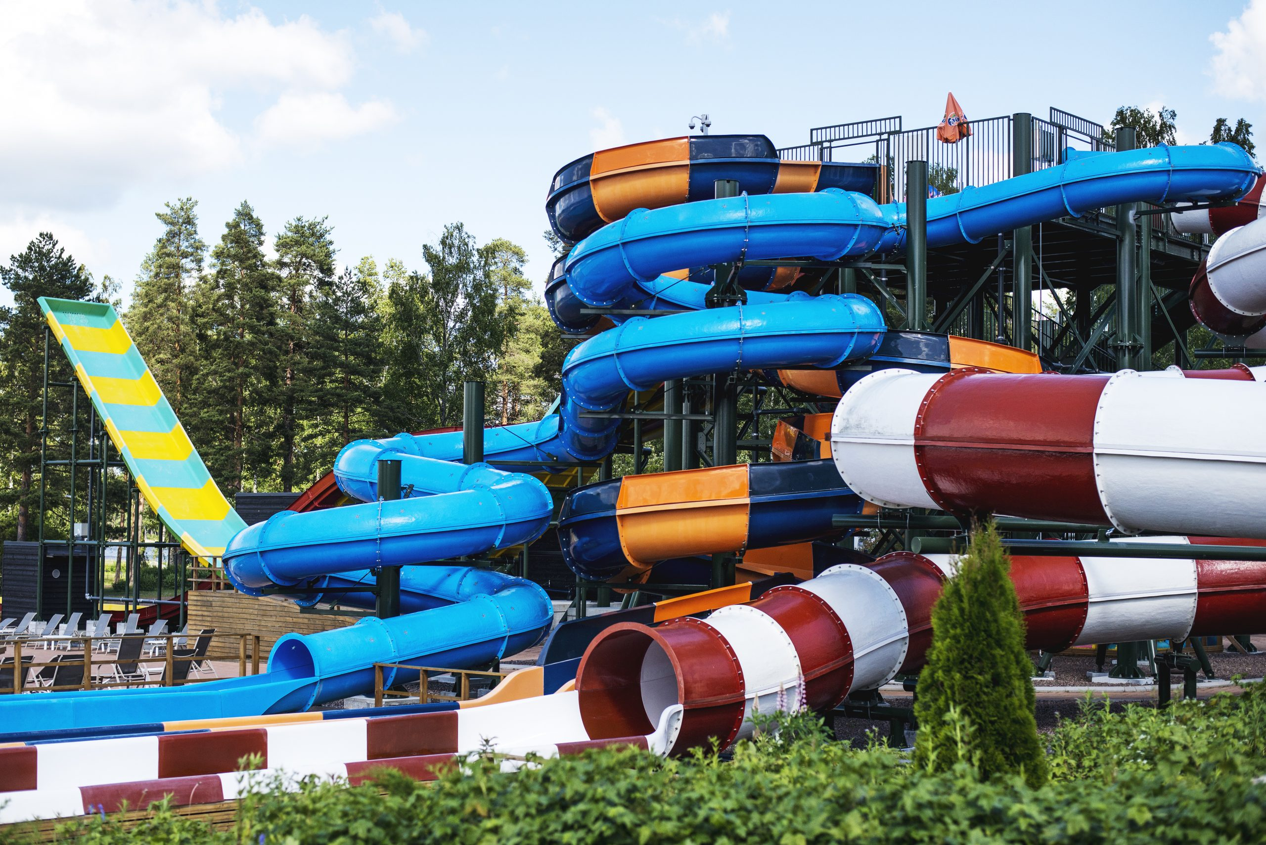 Tykkimäki Aquapark Kouvolassa