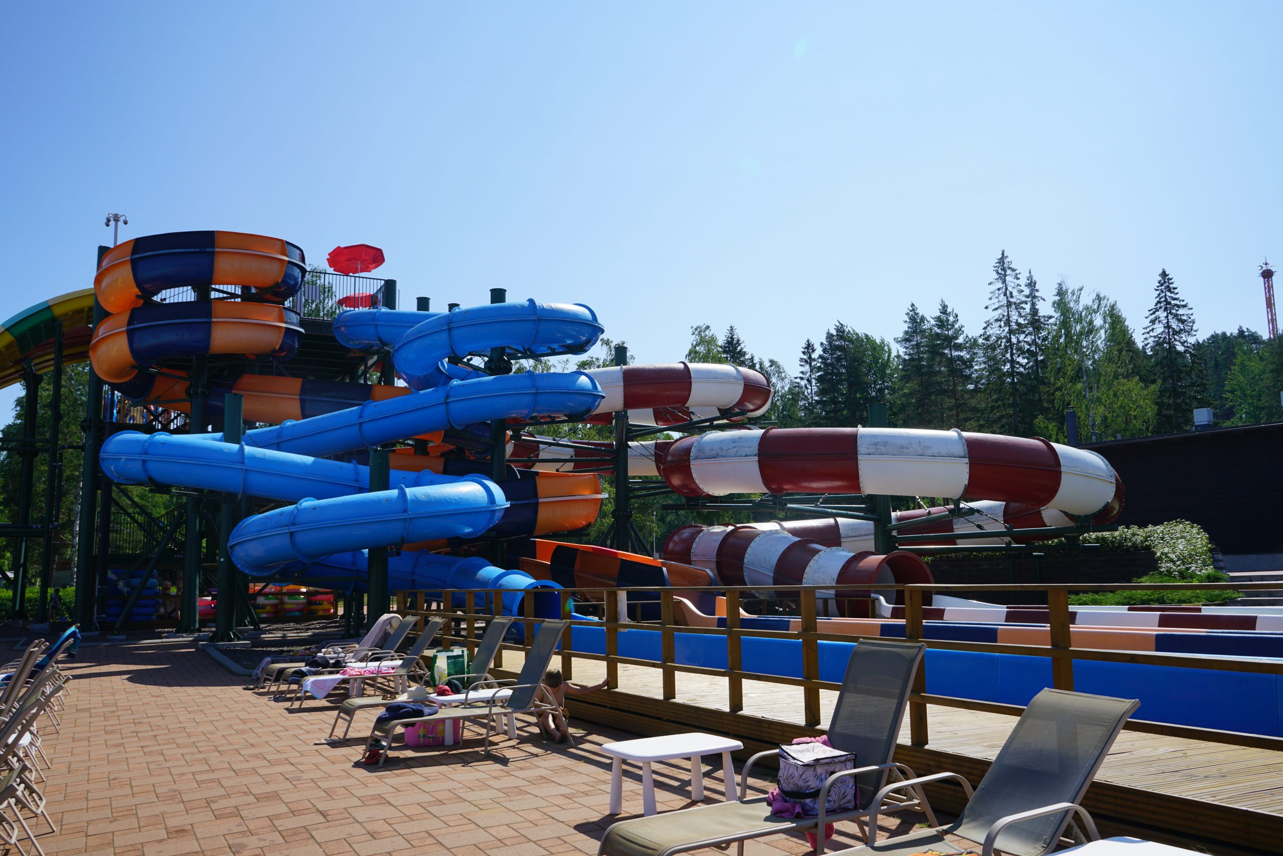 Tykkimäki Aquapark_liukumäet
