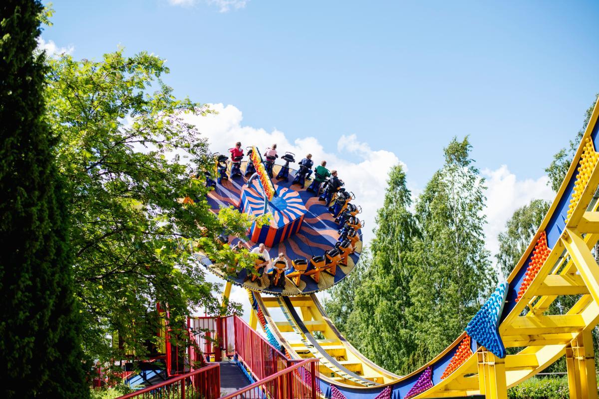 Trombi Tykkimäen huvipuistossa
