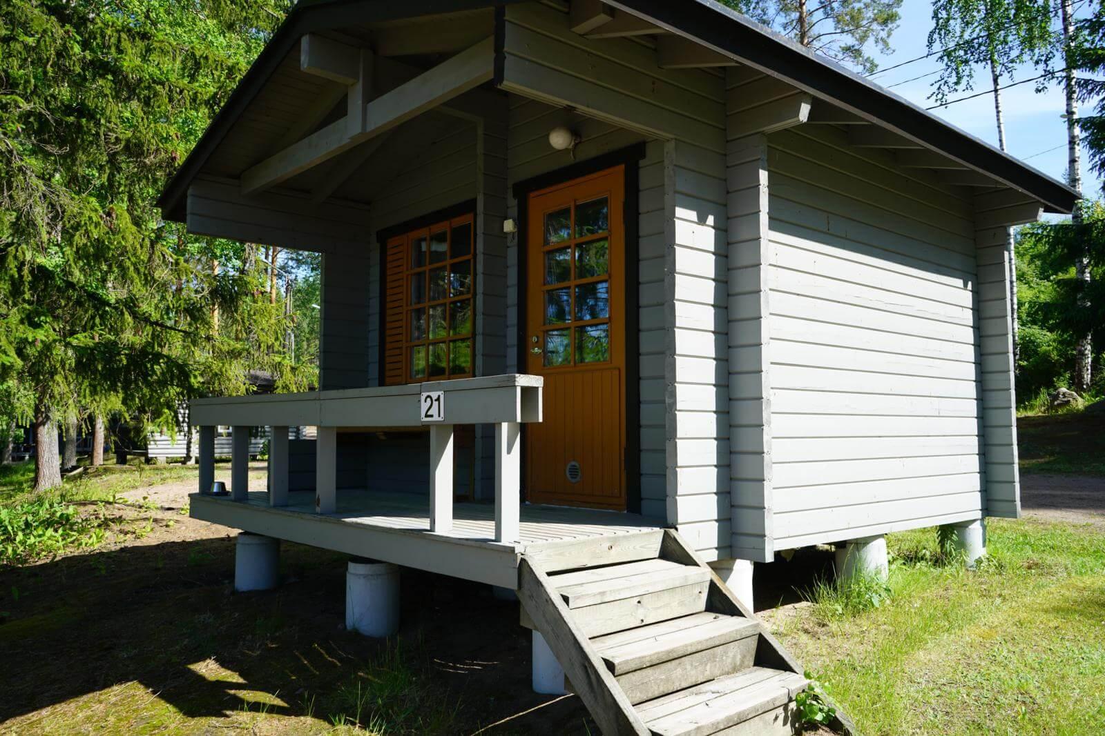Tykkimäki Campingin leirintämökit ovat käytössä kesäkaudella