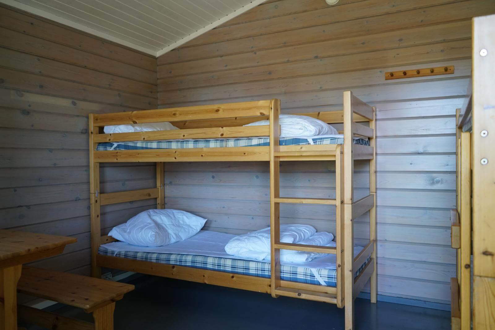 Tykkimäki Campingin leirintämökit ovat mukavia ja edullisia